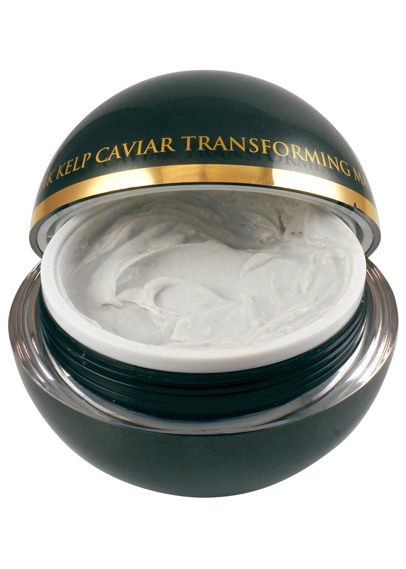Caviar transforming mask different view