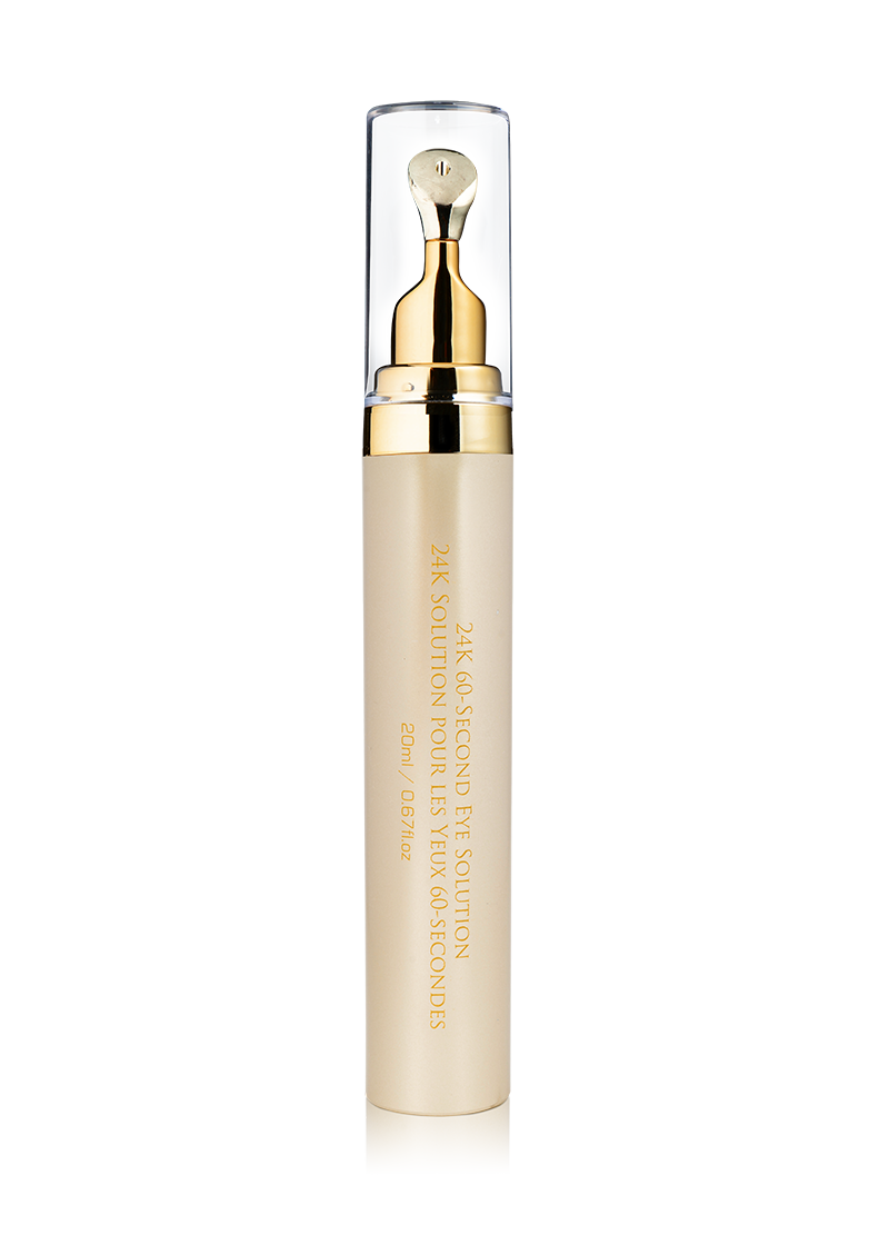 OROGOLD Exclusive 24K 60 Second Eye Solution back