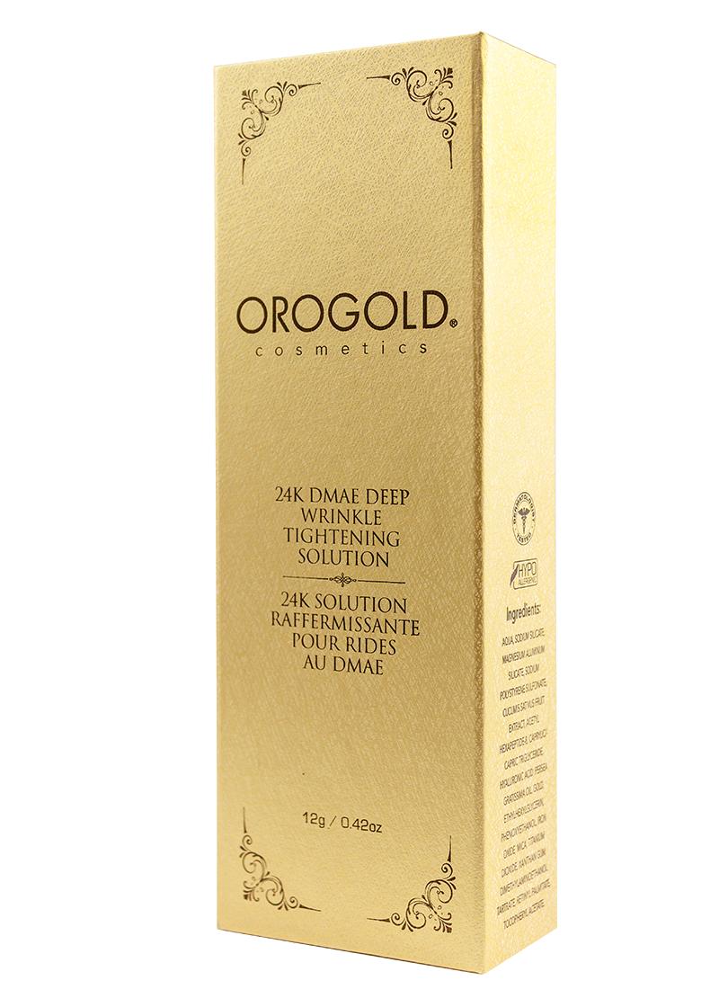 OROGOLD 24K DMAE Deep Wrinkle Tightening Solution Box